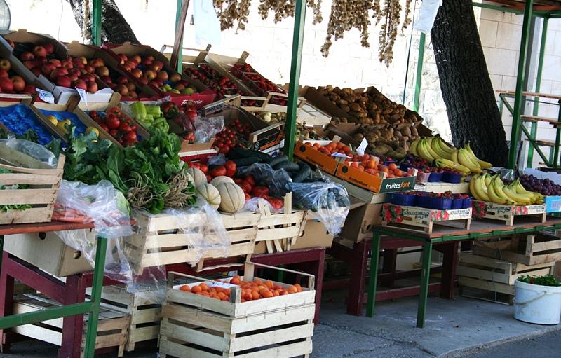 Chorwackie owoce
