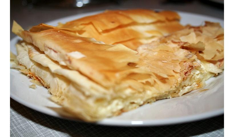 Chorwacki burek z serem