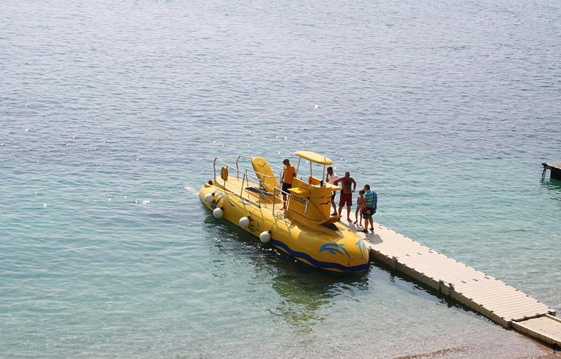 Łódź podwodna - atrakcja Chorwacji