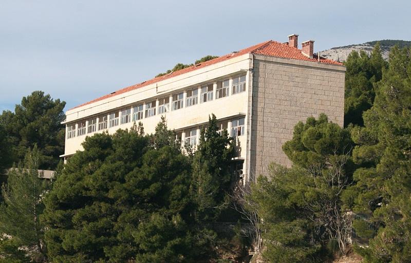 Opuszczony hotel w Bolu
