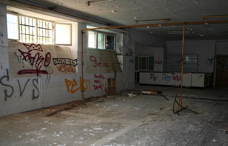 Opuszczony hotel wBolu