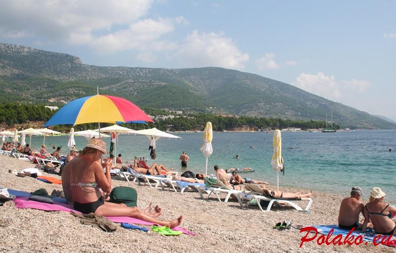 Obraz Polaka na wakacjach w Chorwacji