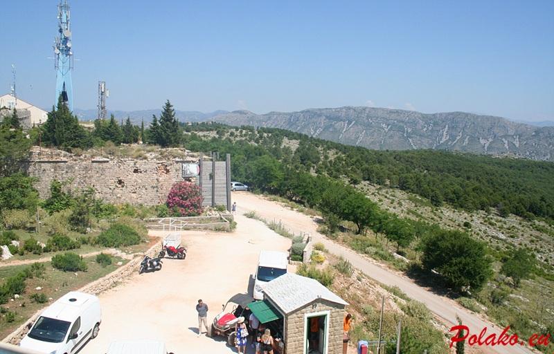 Wzgórze Srđ w Dubrovniku
