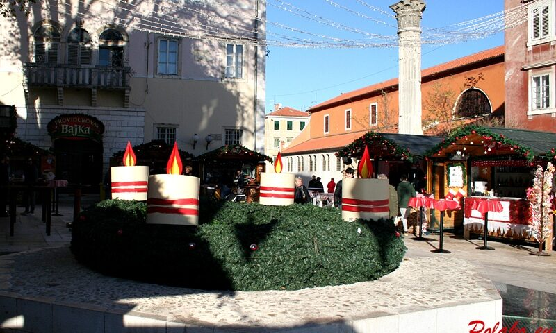 Zadar w świątecznym wydaniu