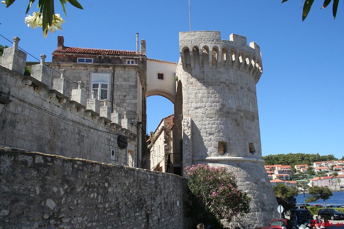 Mury obronne Korčuli