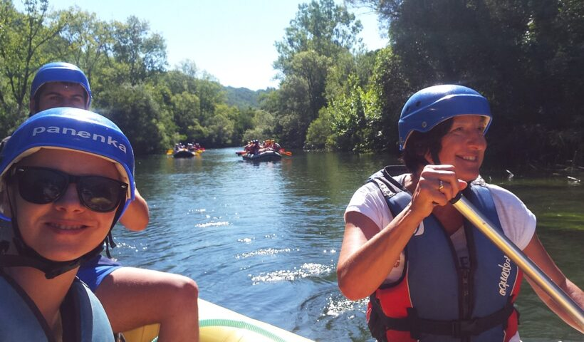 Rafting Cetina
