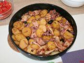 Kalmary z ziemniakami