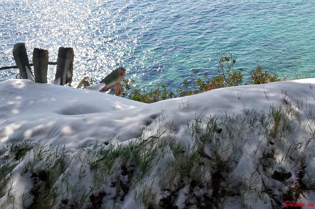 Śnieg w Bolu