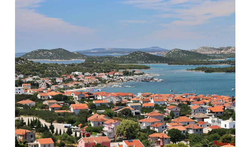 Punkt widokowy na wyspie Murter