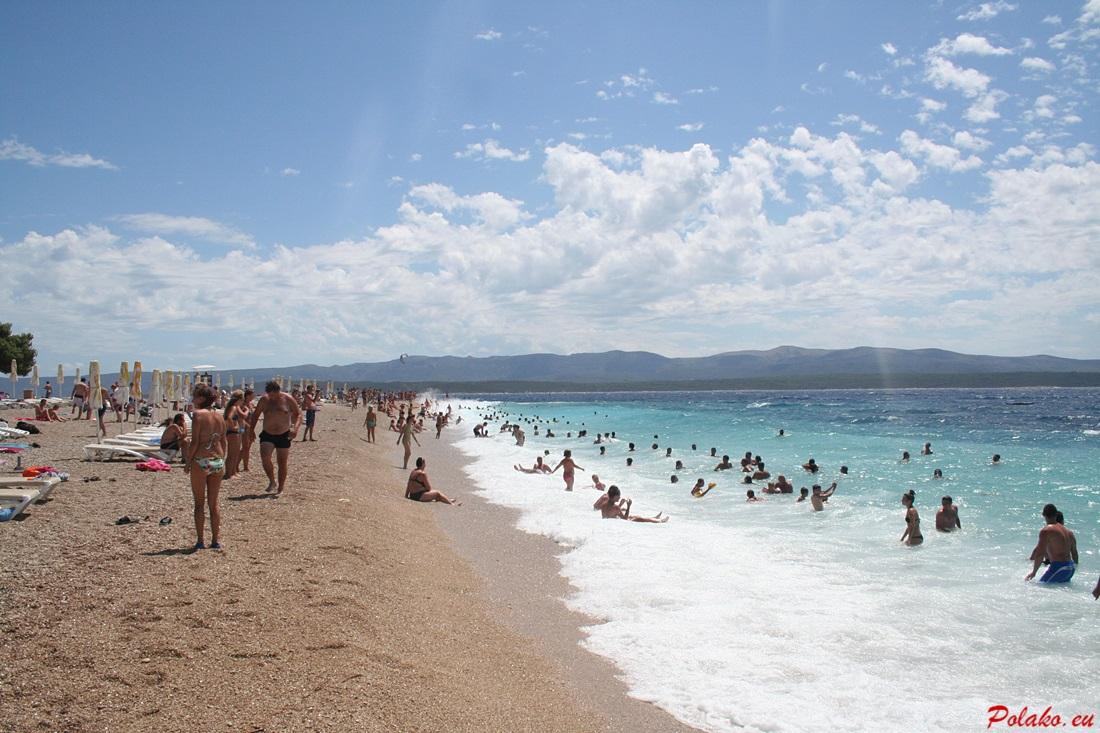 Jak zachować sie na plaży w Chorwacji