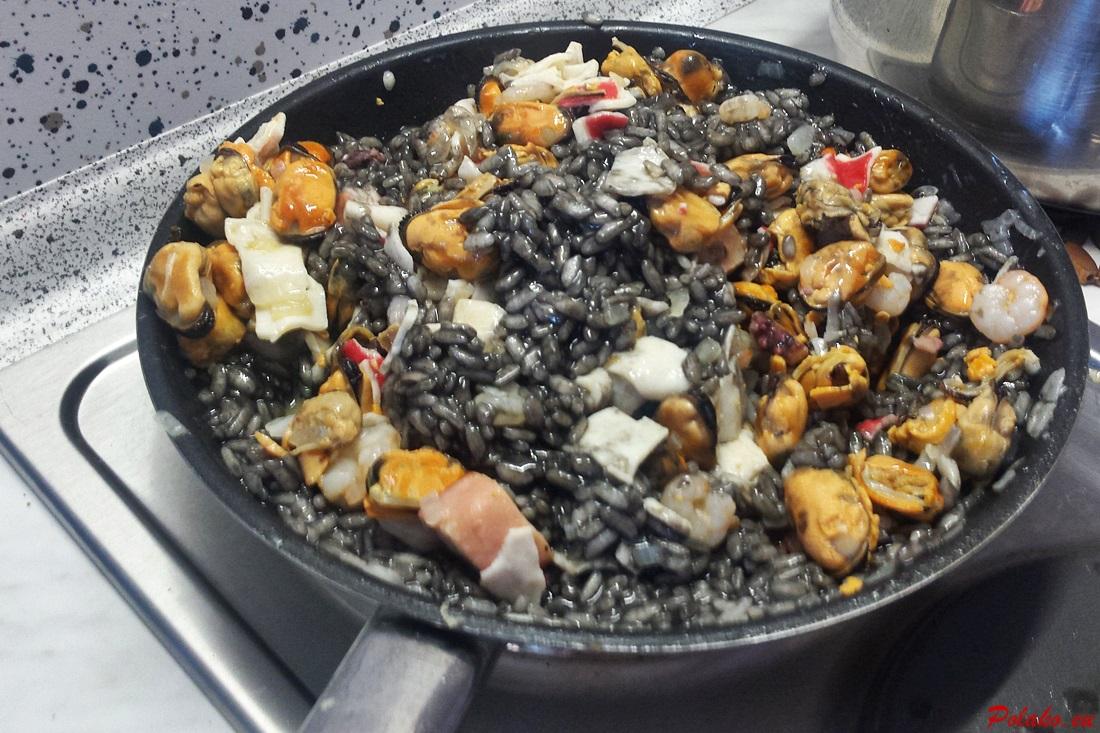 Czarne risotto