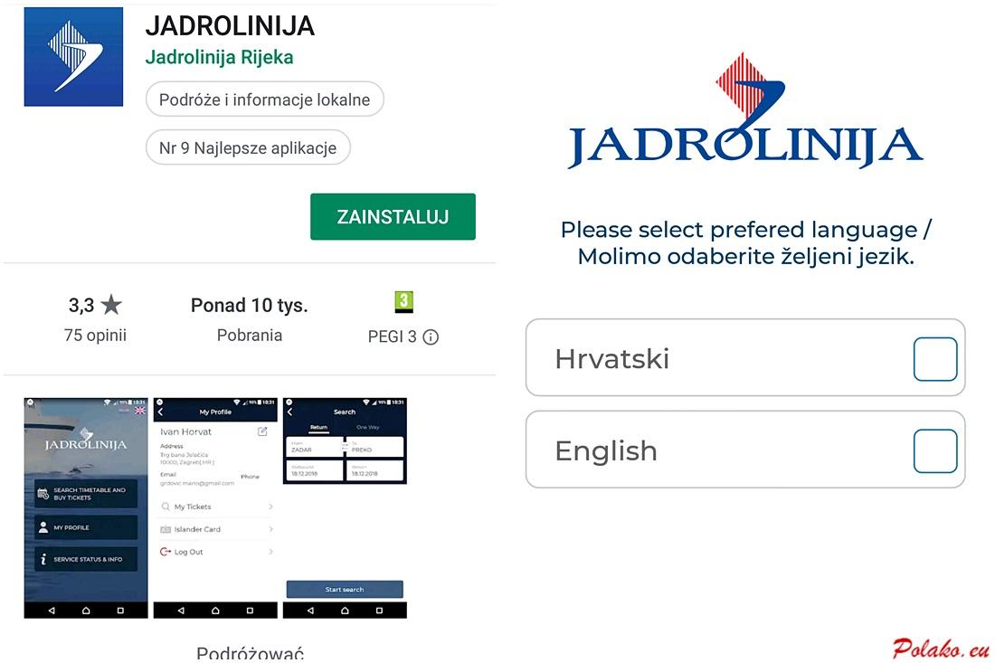 Aplikacja mJadrolinija