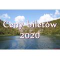 Narodowy Park Krka ceny biletów 2020