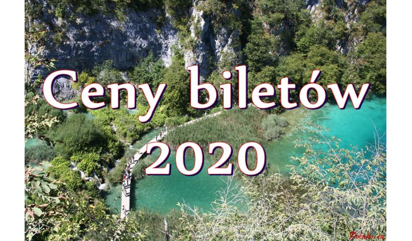 Narodowy Park Jezior Plitwickich: ceny biletów 2020