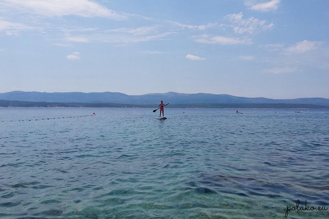 SUP w Chorwacji
