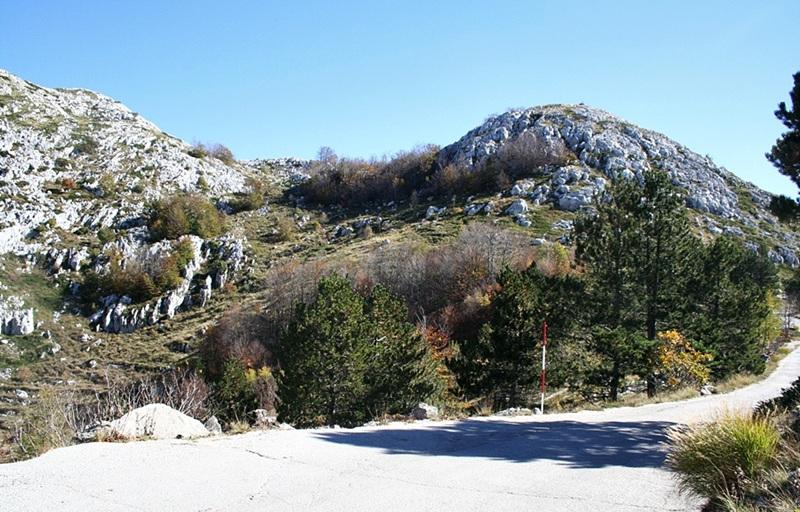 Samochodem na szczyt Sveti Jure - Biokovo
