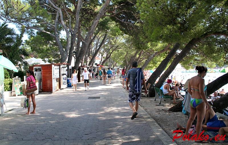 Plaże w Makarskiej