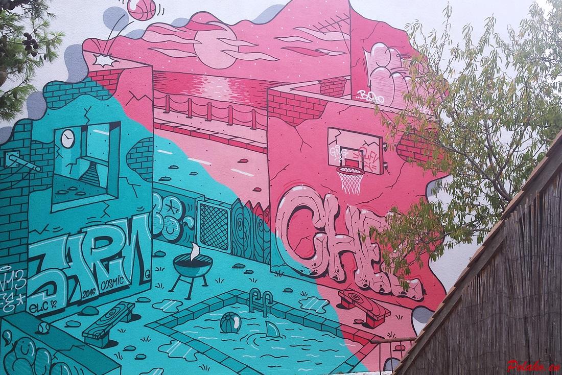 Graffiti na Gradele