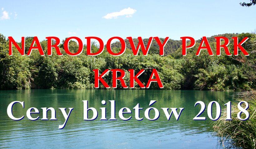 Ceny biletów Narodowy Park Krka
