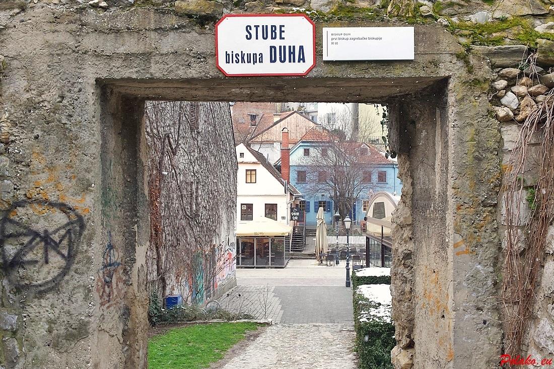 Schody biskupa Duha w Zagrzebiu