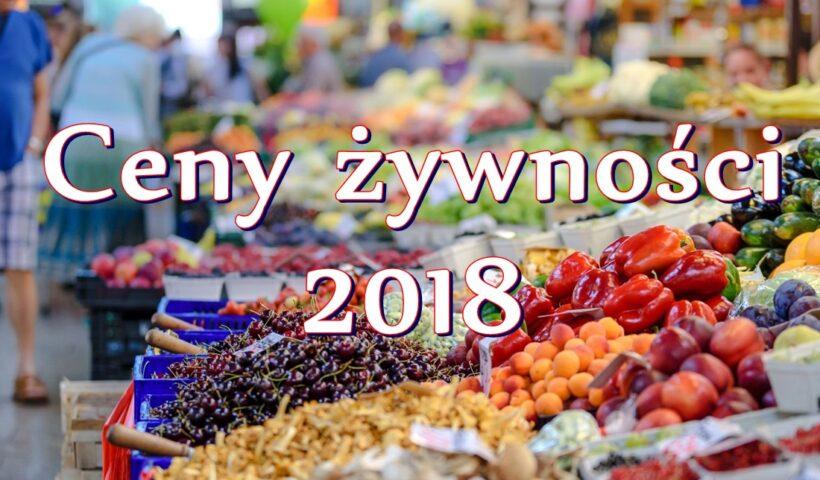 Przykładowe ceny żywności w Chorwacji