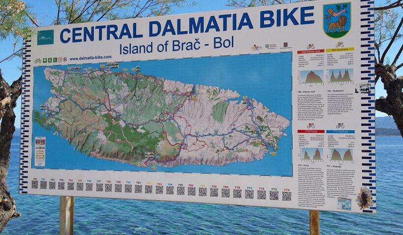 Rowerem po wyspie Brač