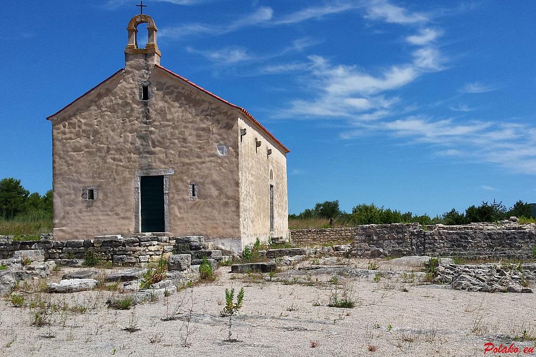 Ivinj - pozostałości archeologiczne przy kościele św. Marcina