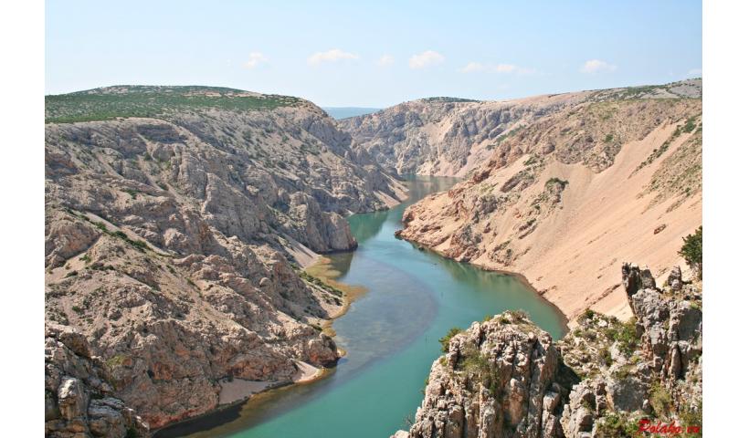 Kanion rzeki Zrmanja