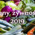 Ceny artykułów spożywczych w Chorwacji