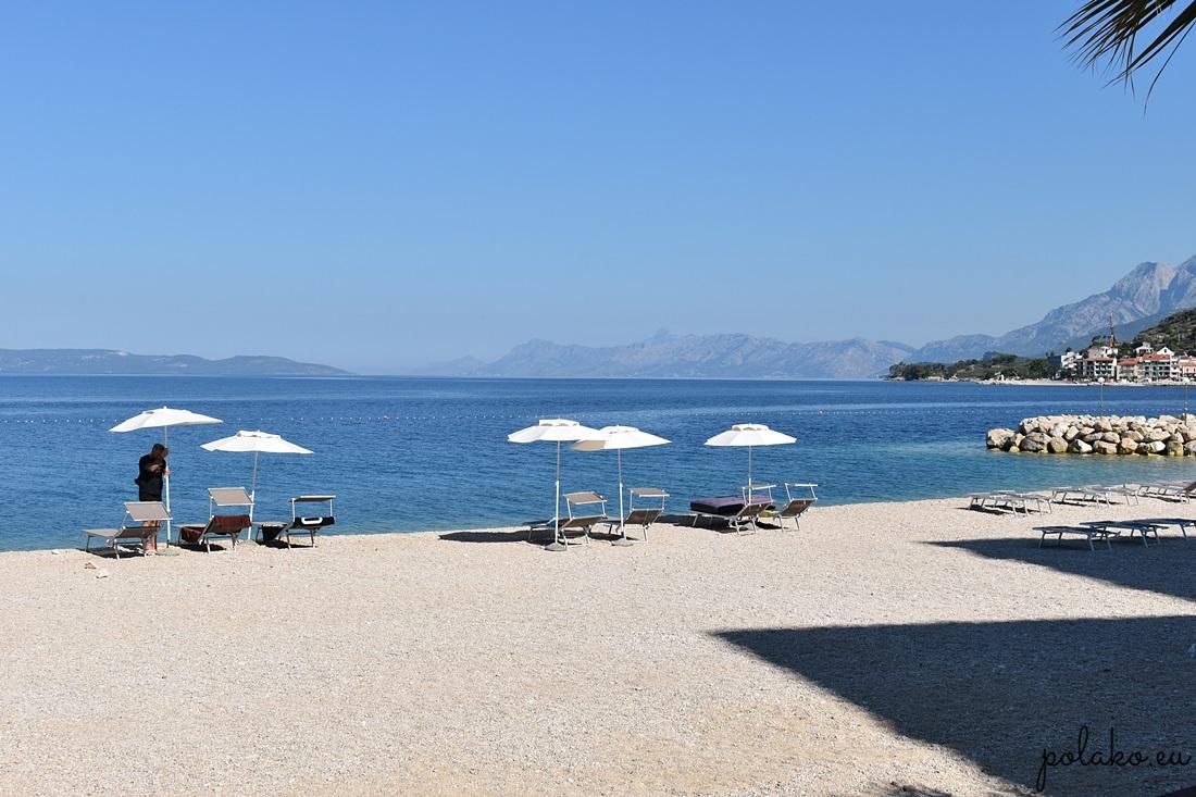Plaże w Chorwacji - Podgora
