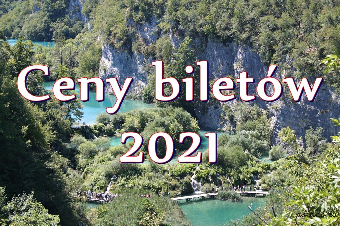 Narodowy Park Jezior Plitwickich: ceny biletów 2021