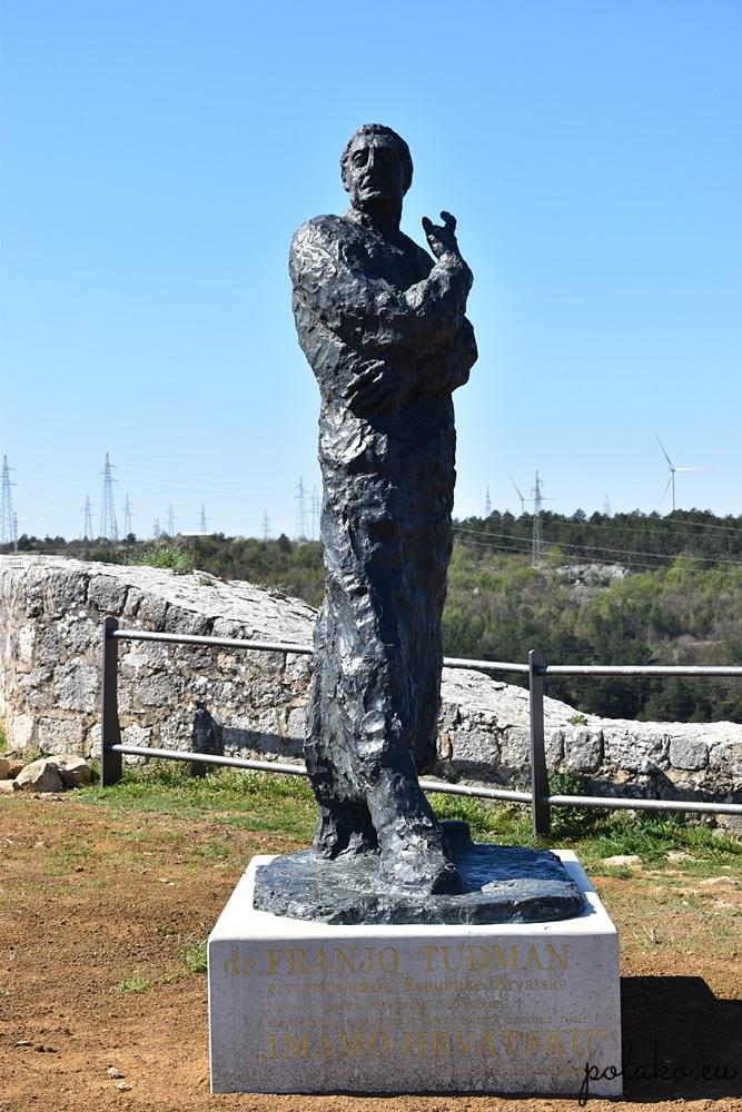 Pomnik - Franjo Tuđman